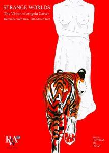 UWE BA (Hons) Illustration poster competition for Strange Worlds Exhibition - by Ellie Reader
