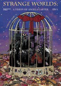 UWE BA (Hons) Illustration poster competition for Strange Worlds Exhibition - by Georgina Tozer