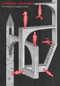 UWE BA (Hons) Illustration poster competition for Strange Worlds Exhibition - by Tom Camp